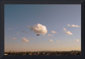 Goodyear Blimp over NYC.
