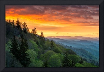 Great Smoky Mountains North Carolina Scenic Landsc
