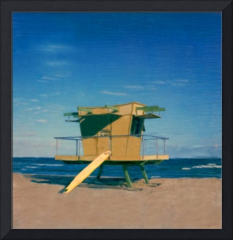 Miami Beach FL, Lifeguard Stand  #1