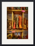 Cowboy Boots at the Wild West Store by Dave Wilson
