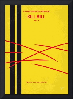 No049 My Kill Bill -part2 minimal movie poster