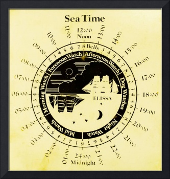 Sea Time - Elissa Chart