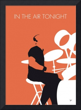 No163 MY Phil Collins Minimal Music poster