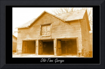 Vintage Garage Digital Art