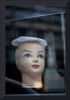 Disembodied Mannequin Head
