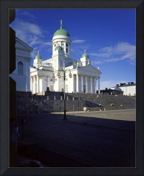 Helsinki Cathedral, Finland from the University