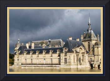 Storm at Château Chantilly