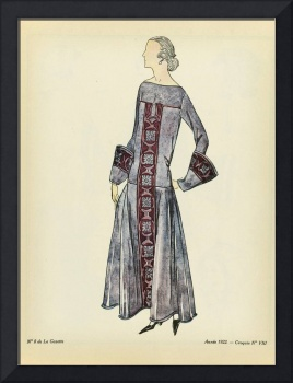 Fashion Poster 1900-1920s Series - 22