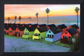 Beach Cottages Oceanside California