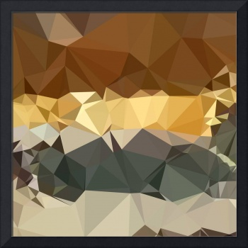 French Beige Abstract Low Polygon Background