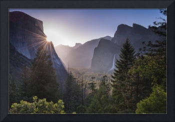 First Light Yosemite