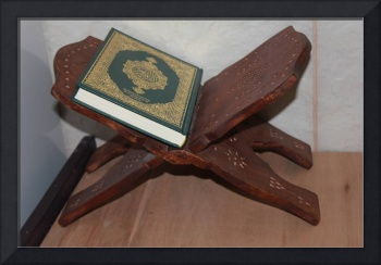 The Holy Quran in Saudi Arabian Mosque