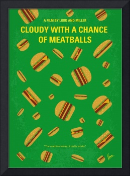 No778 My Cloudy with a Chance of Meatballs minimal