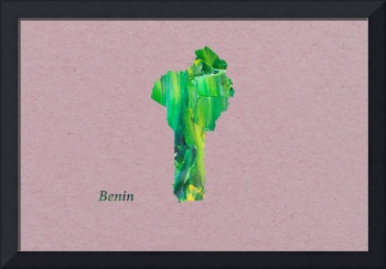Artistic Map of Benin
