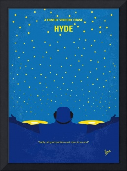 No777 My HYDE minimal movie poster