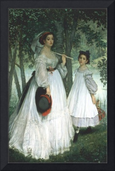 The Two Sisters by James Jacques Joseph Tissot