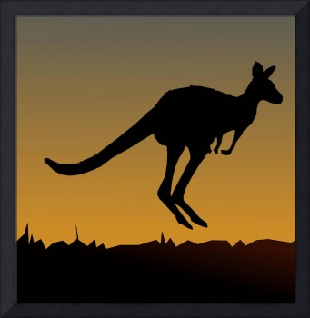 Kangaroo for Australia