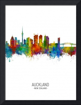 Auckland New Zealand Skyline