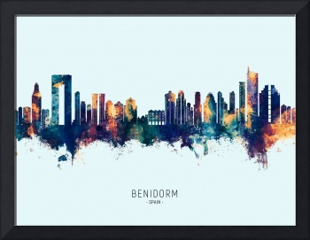 Benidorm Spain Skyline