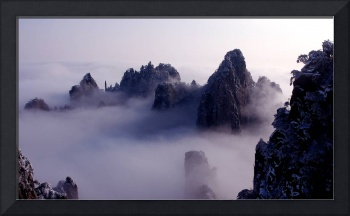 Huang Shan mountains(yellow mountain) ,China