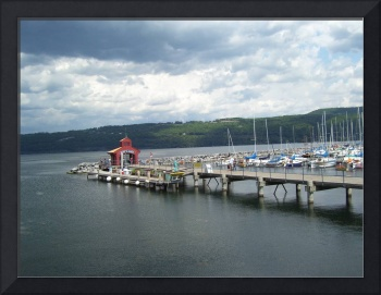 Seneca Lake Dock, Finger Lakes Region, New York