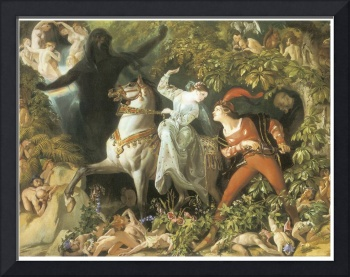 Undine and the Wood Demon by Daniel Maclise
