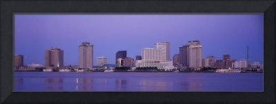 Sunrise Skyline New Orleans LA