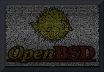 OpenBSD Source Poster