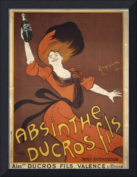 Absinthe Ducros Fils by Cappiello Vintage Poster