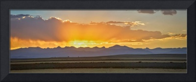 Colorado September Sunset Panorama