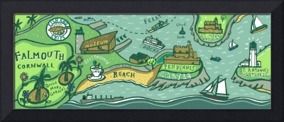 Falmouth, Cornwall by Sheila Moxley