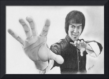 drawing bruce lee 09