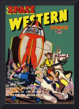 Space Western Comics 40