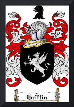GRIFFIN FAMILY CREST - COAT OF ARMS