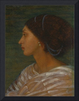 Joanna Mary Boyce~Head of a Mulatto Woman (Mrs. Ea