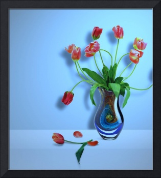 Beautiful Vase of Flowers-5