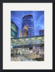 Minneapolis Skyline Photography Nicollet Mall by Wayne Moran