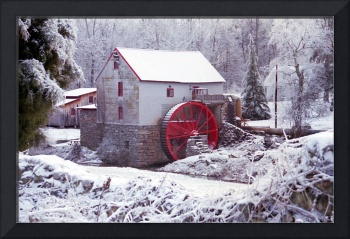 Snow at the Old Mill
