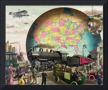 20th Century Transportation by E.S. Yates