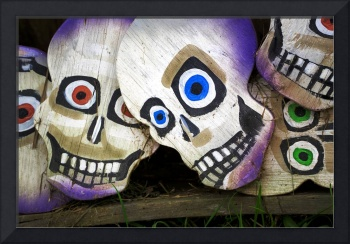Skull Faces for Day of the Dead