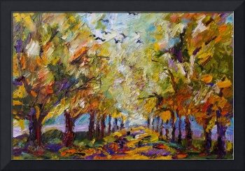 Where Crows Dream - Oil Painting by Ginette Callaw