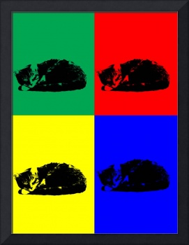 Pop Art Tabby Cat