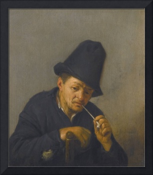 ADRIAEN JANSZ VAN OSTADE, AN OLD MAN WITH IN A TAL