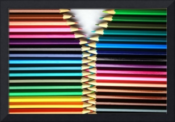 Opening Colored Pencils