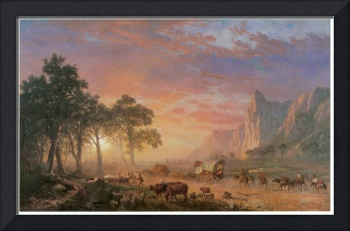 Albert Bierstadt's The Oregon Trail