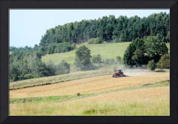 Late summer (august) on polish country