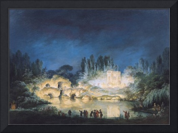 Illumination of the Belvedere at the Petit-Trianon