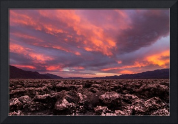 Surreal Skies over Death Valley