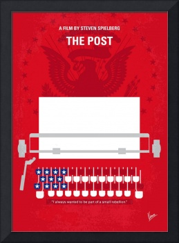 No907 My The Post minimal movie poster