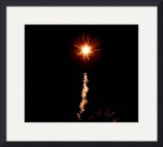 "Fireworks #22 ""A Star in the Night"" by Jacque Alameddine"